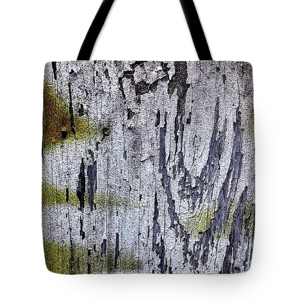 Wooden Wall 2 Tote Bag