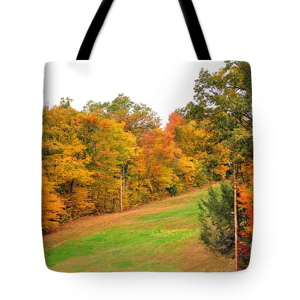Fall Foliage In New England Tote Bag