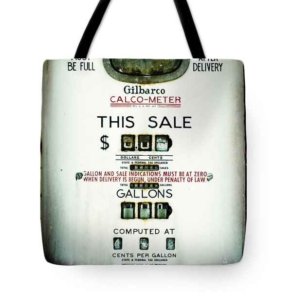 45 Cents Per Gallon Tote Bag