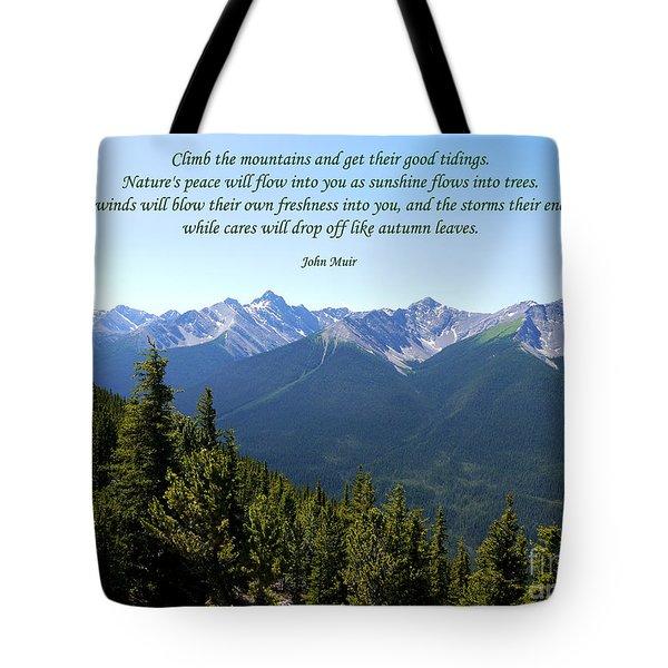 46- John Muir Tote Bag