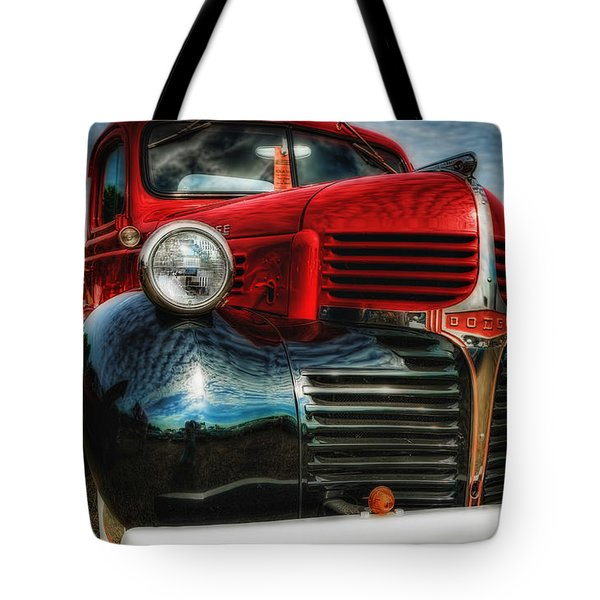47 Dodge Pickup Tote Bag by Trey Foerster