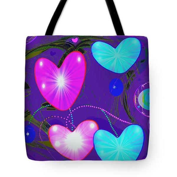 472 -  Valentine Hearts  ... Tote Bag