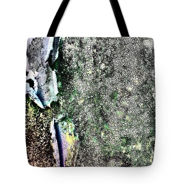 Textured 6 Tote Bag