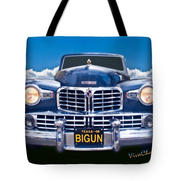48 Lincoln Continental Grille On Bigun Tote Bag