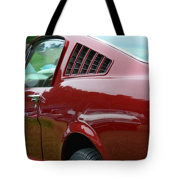Classic Mustang Tote Bag by Dean Ferreira