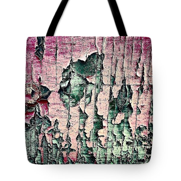 Flaky Paint Tote Bag