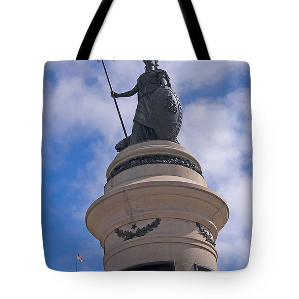 49ers Monument In San Francisco Tote Bag