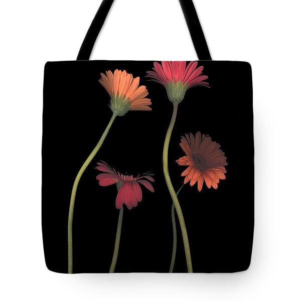 4daisies On Stems Tote Bag