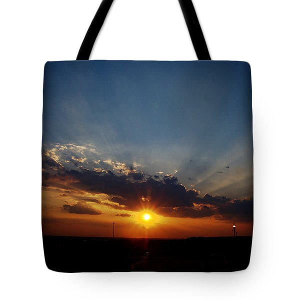 4th July Sunset 2013 Tote Bag