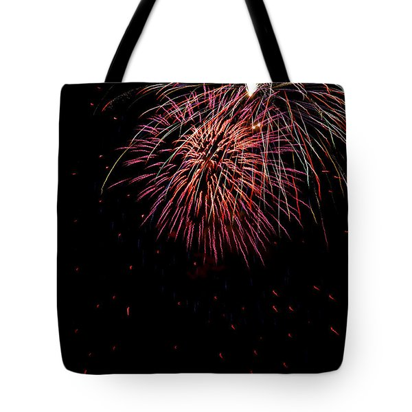 4th Of July 9 Tote Bag by Marilyn Hunt