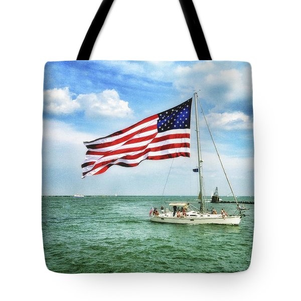 4th Of July - Navy Pier - Downtown Chicago Tote Bag