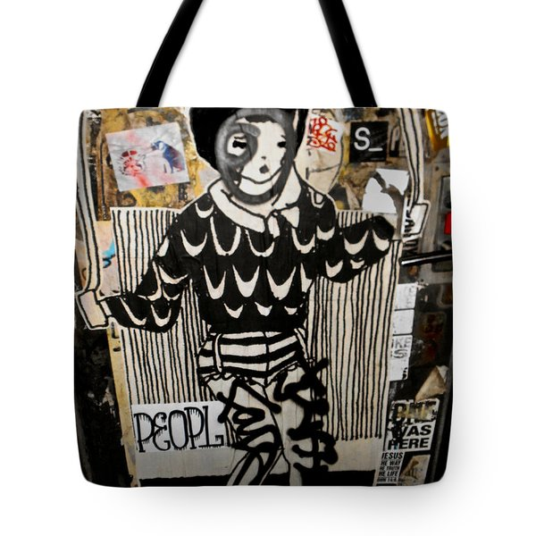 Tote Bag featuring the photograph 4th St. Door by Joan Reese