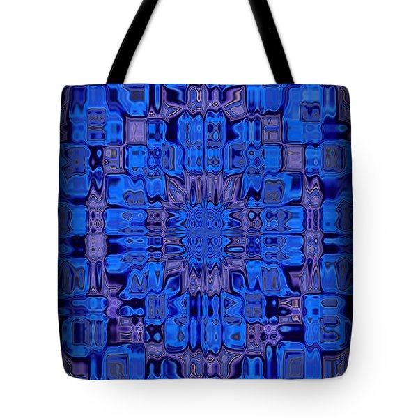 Abstract 119 Tote Bag by J D Owen