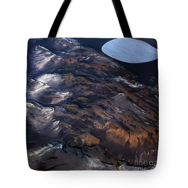 Tote Bag featuring the photograph Aerial Photography by Gunnar Orn Arnason