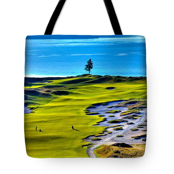 #5 At Chambers Bay Golf Course - Location Of The 2015 U.s. Open Tournament Tote Bag