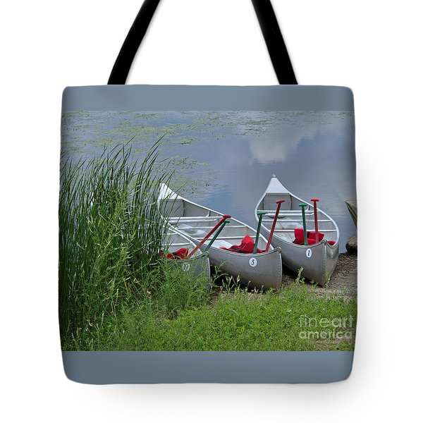 At Waters Edge Tote Bag