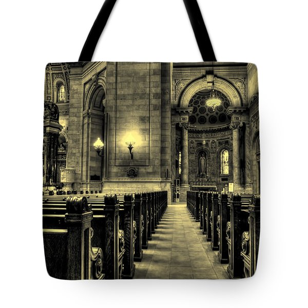 Basilica Of Saint Mary Tote Bag