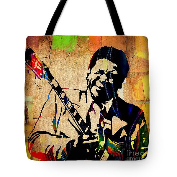 Bb King Collection Tote Bag by Marvin Blaine