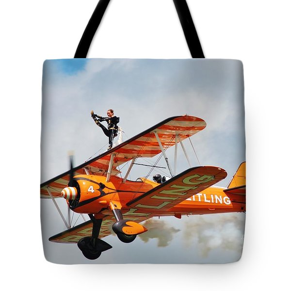 Breitling Wingwalkers Team Tote Bag