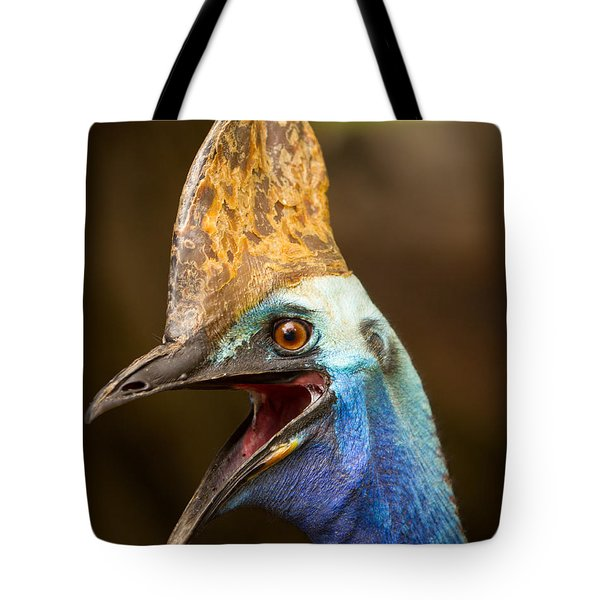 Cassowary Tote Bag by Craig Dingle