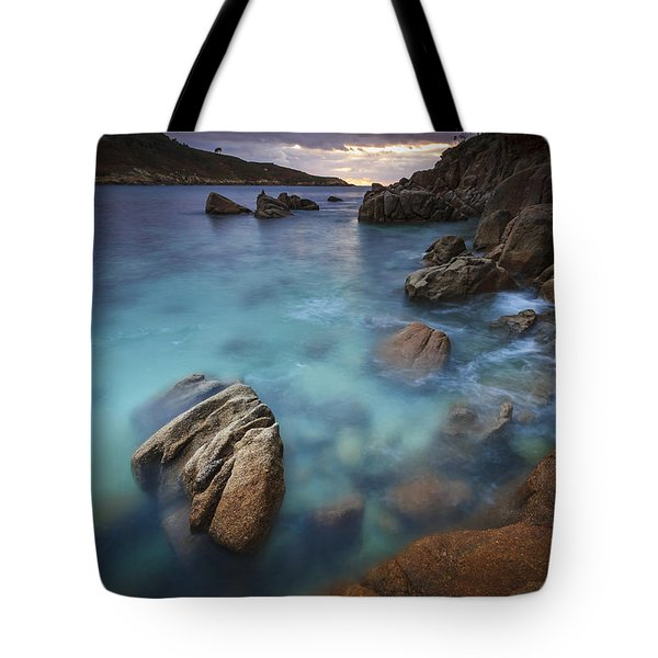 Tote Bag featuring the photograph Chanteiro Beach Galicia Spain by Pablo Avanzini