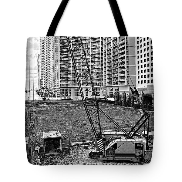 Construction Site-2 Tote Bag