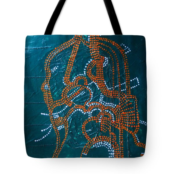 Dinka - South Sudan Tote Bag by Gloria Ssali