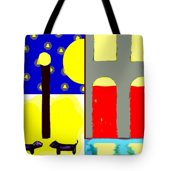 Dogs Tote Bag by Patrick J Murphy