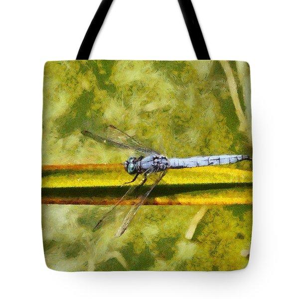 Dragonfly Tote Bag by George Atsametakis