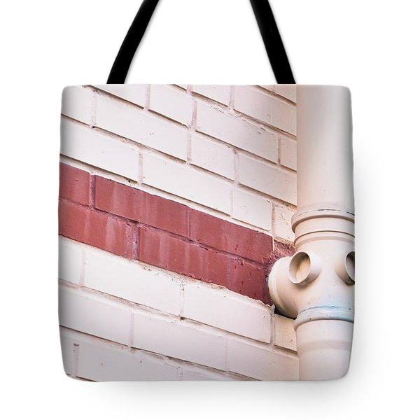 Drainpipe Tote Bag