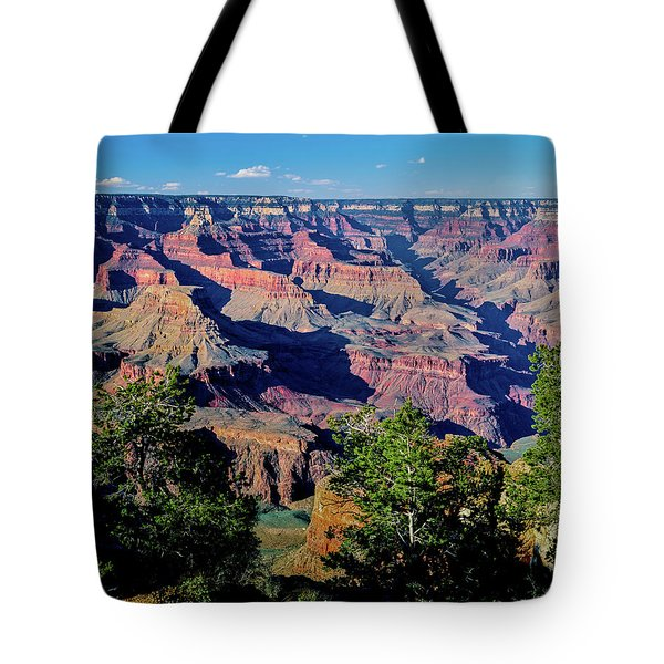 Elevated View Of The Rock Formations Tote Bag