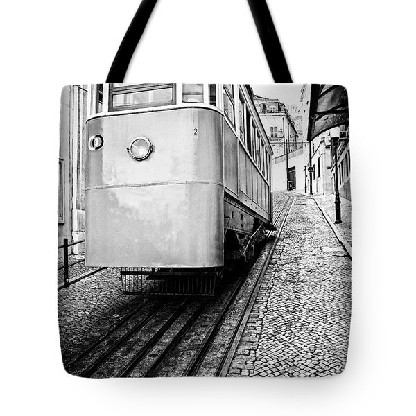 Gloria Funicular Tote Bag by Jose Elias - Sofia Pereira