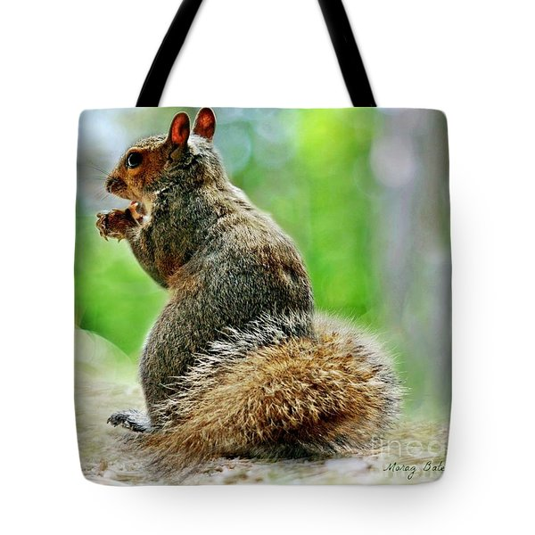 Harry The Squirrel Tote Bag