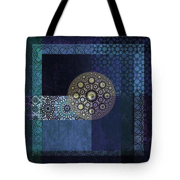 Islamic Motives Tote Bag by Corporate Art Task Force