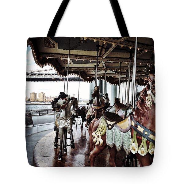 Jane's Carousel Tote Bag
