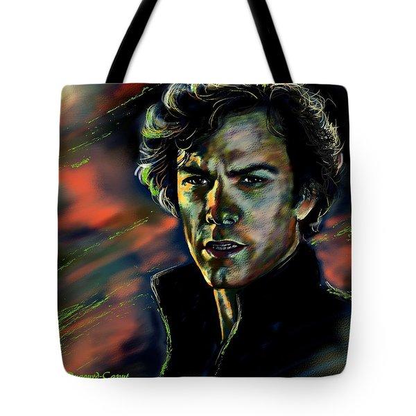 Kyle Schmid Tote Bag by Francoise Dugourd-Caput