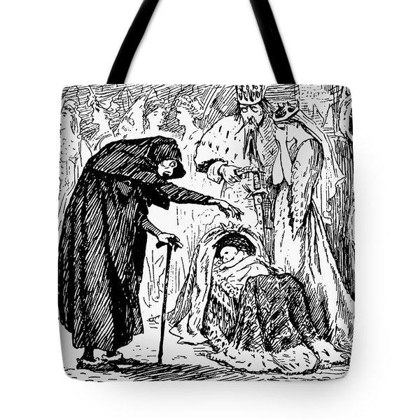 Perrault Sleeping Beauty Tote Bag