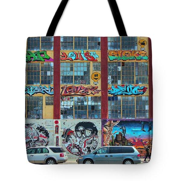 5 Pointz Graffiti Art 10 Tote Bag
