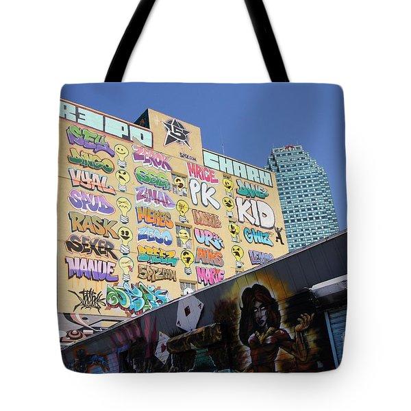 5 Pointz Graffiti Art 2 Tote Bag