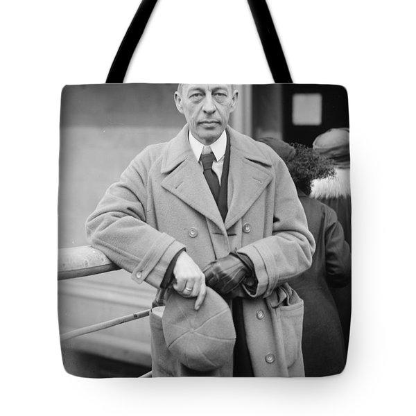 Sergei Rachmaninoff Tote Bag by Granger