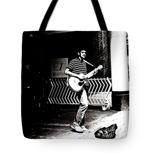 The Busker Tote Bag