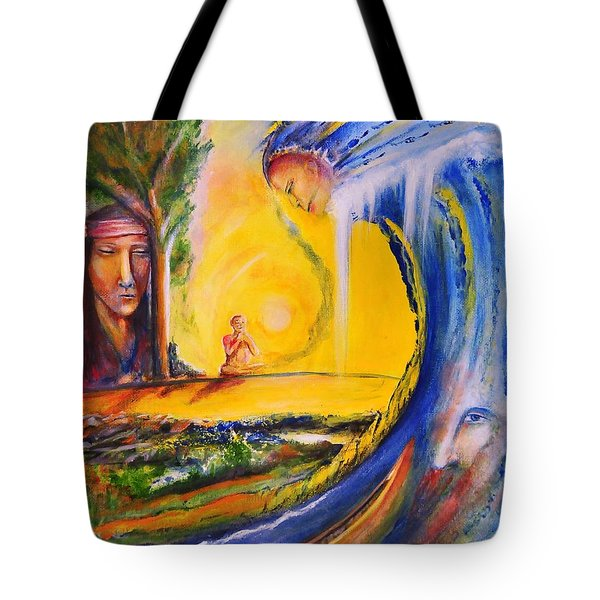 The Island Of Man Tote Bag