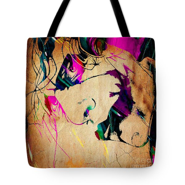 The Joker Heath Ledger Collection Tote Bag