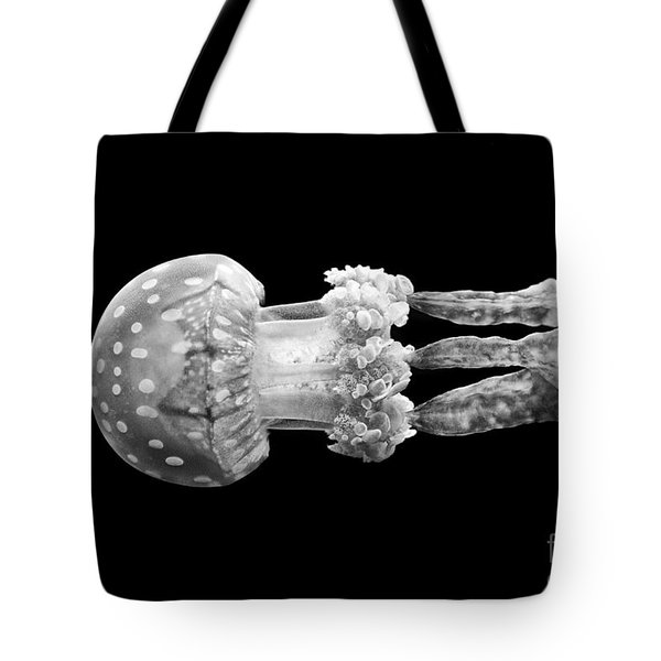 The Spotted Jelly Or Lagoon Jelly Mastigias Papua. Tote Bag by Jamie Pham