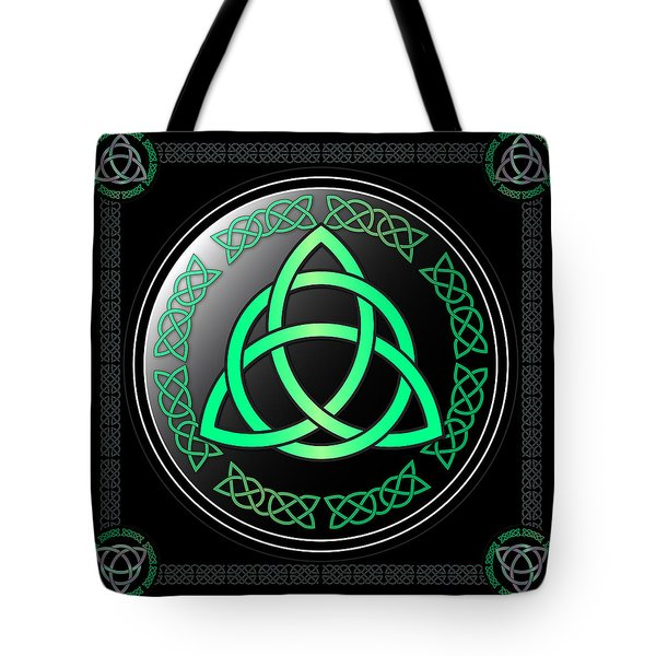 Triquetra Tote Bag by Ireland Calling