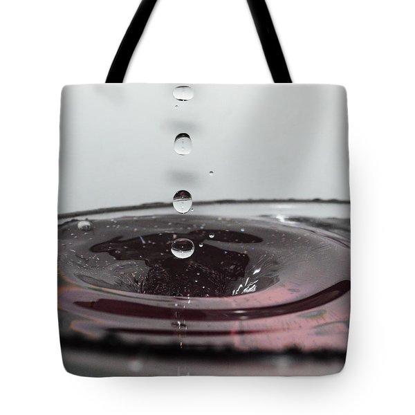 5 Water Drops Tote Bag