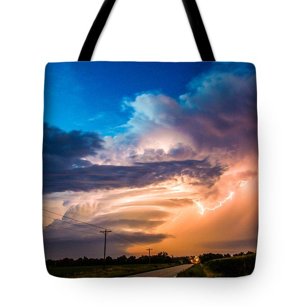 Wicked Good Nebraska Supercell Tote Bag