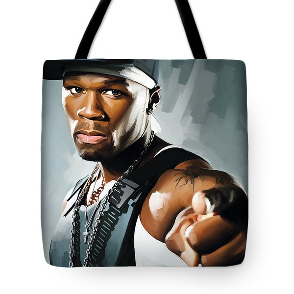 50 Cent Artwork 2 Tote Bag