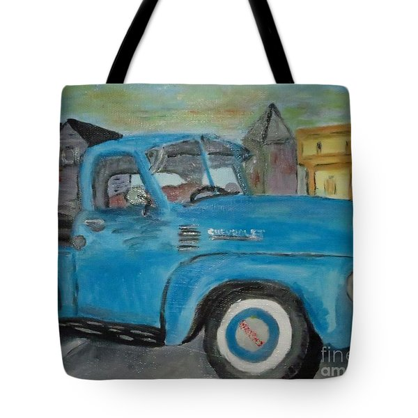 50 Chevy In Tannersville Tote Bag