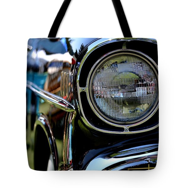 Tote Bag featuring the photograph 50's Chevy by Dean Ferreira
